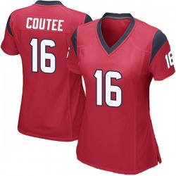 Nike Keke Coutee Houston Texans Women's Game Red Alternate Jersey