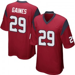 Nike Phillip Gaines Houston Texans Men's Game Red Alternate Jersey