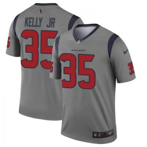 Nike Jermaine Kelly Jr. Houston Texans Youth Legend Gray Inverted Jersey