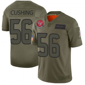 Nike Brian Cushing Houston Texans Men's Limited Camo 2019 Salute to Service Jersey